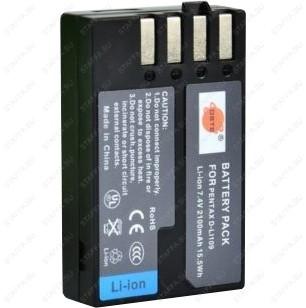 Аккумулятор для Pentax D-LI109 2100mAh для K-30, K-50, K-500, K-r, Efina