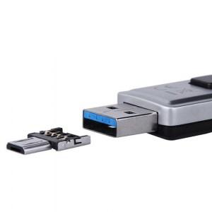 Безкорпусной с USB на microUSB переходник для подключения внешних устройств Image 1