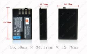 Аккумулятор для Pentax D-LI109 2100mAh для K-30, K-50, K-500, K-r, Efina Image 2