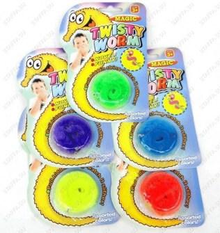 Magic Twisty Worm - волшебный червячок Байла (Мейзи) в упаковке Image 0