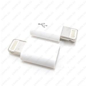 Переходник microUSB на 8-пин Apple iPhone iPadUSB 3.1 штекер microUSB гнездо для подключения к USB 3.1 внешних устройств microUSB Image 2