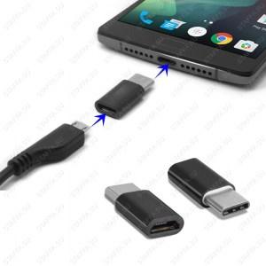 Переходник USB 3.1 штекер microUSB гнездо для подключения к USB 3.1 внешних устройств microUSB Image 0