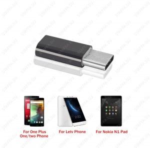 Переходник USB 3.1 штекер microUSB гнездо для подключения к USB 3.1 внешних устройств microUSB Image 1