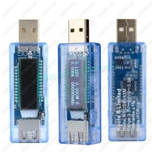 VATM USB тестер (напряжение, ток, емкость) Image 1