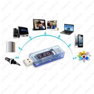 VATM USB тестер (напряжение, ток, емкость) Image 2