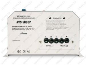 Стабилизатор напряжения Powerman AVS 5000P (однофазный релейный - нового образца) Image 1