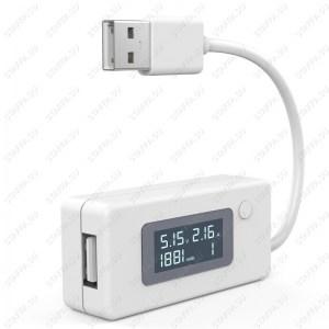 VACT-017 LCD USB тестер (напряжение, ток, емкость, память) Image 3