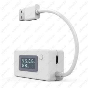 VACT-017 LCD USB тестер (напряжение, ток, емкость, память) Image 1