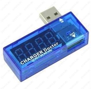 L1P USB тестер (вольтметр/амперметр)